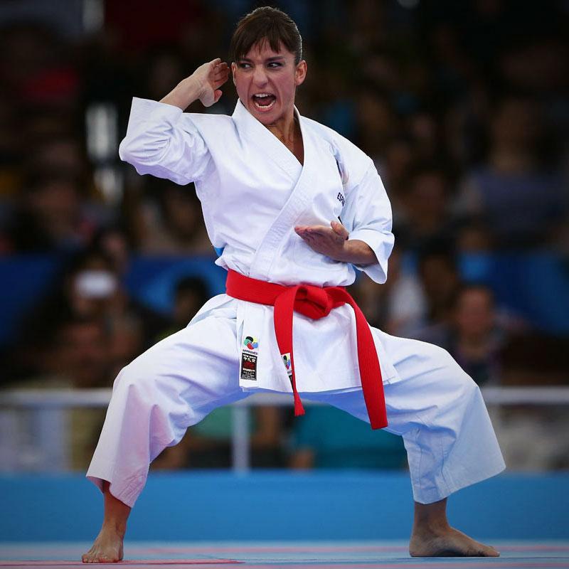 Soy Sandra Sánchez, karateka