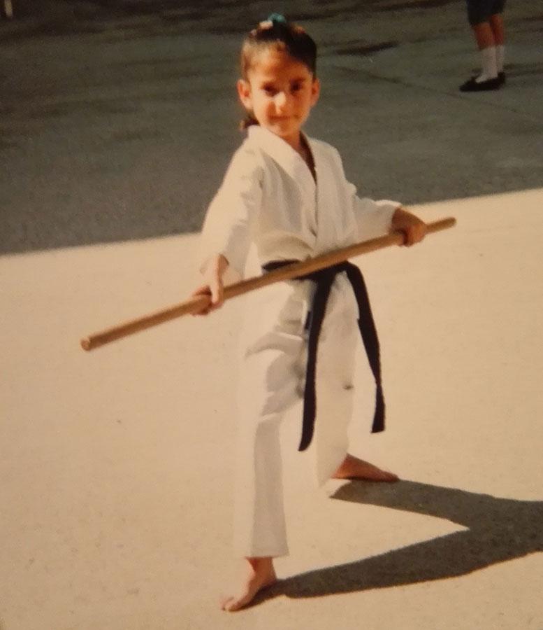 Ya sabía yo que lo mío iba a ser el karate