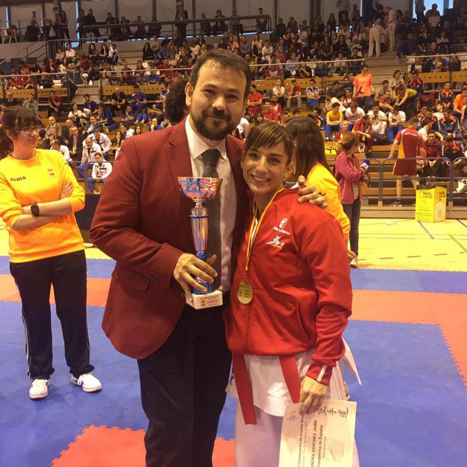 Con Juan Ramón Amores, Director General de Juventud y Deportes de Castilla-La Mancha
