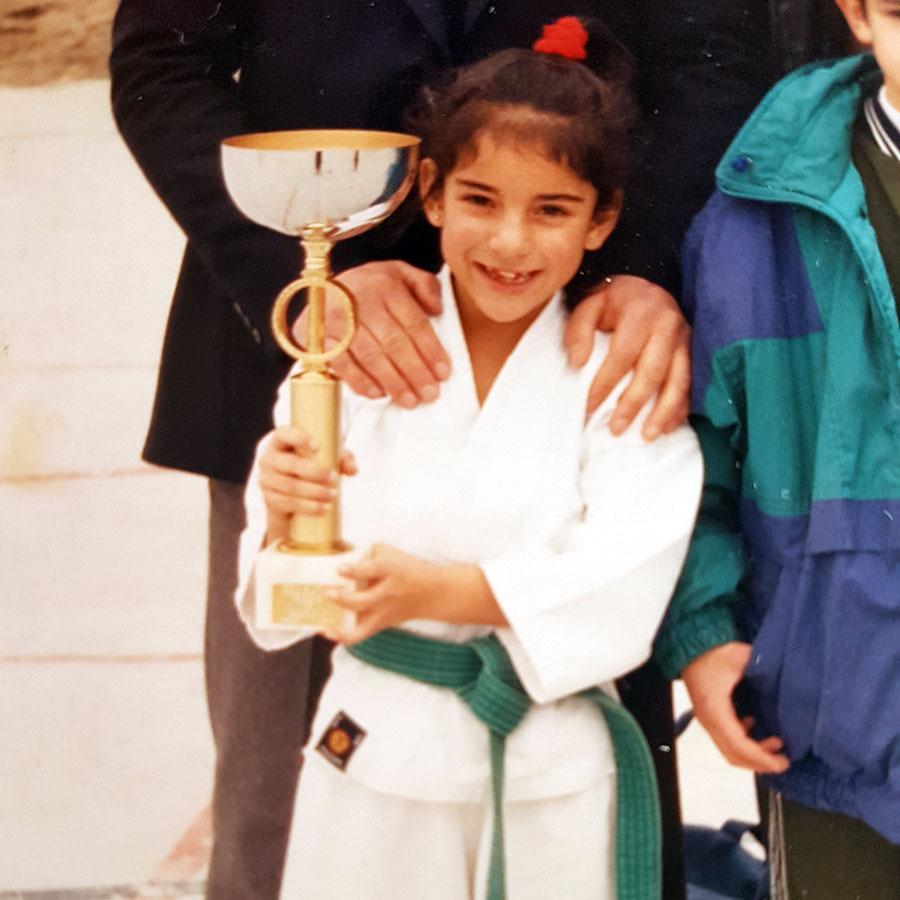 Mi primera copa como karateka