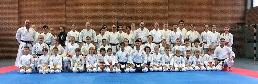 Foto de grupo habitual en todos nuestros cursos y seminarios