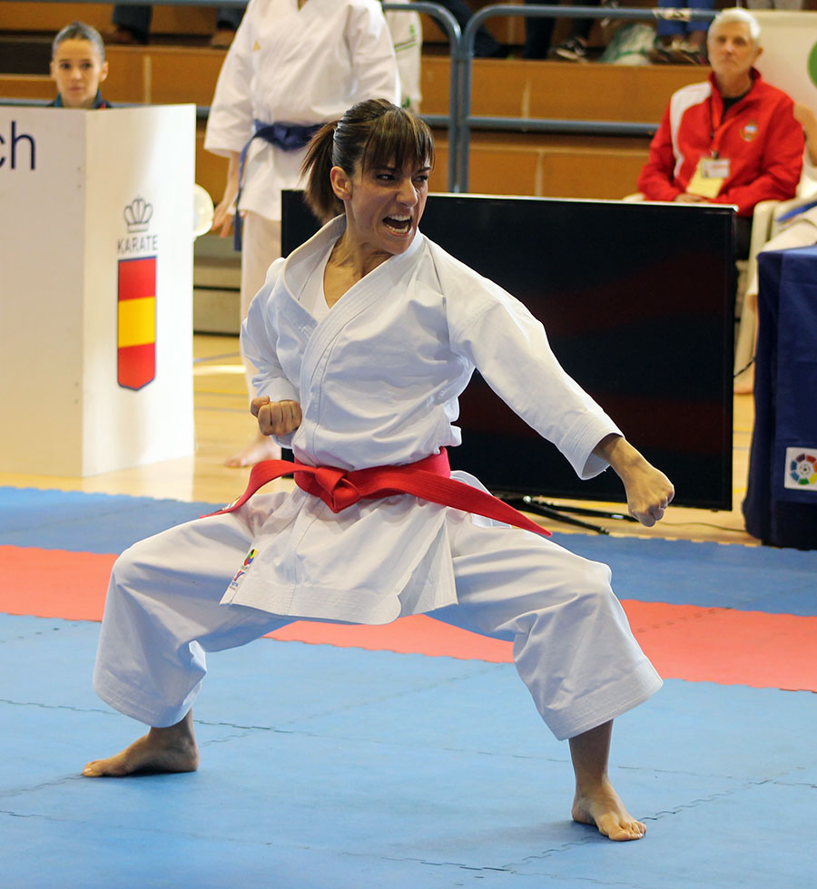 Llevar el karate nacional al más alto nivel mundial me hace sentir muuuuy grande