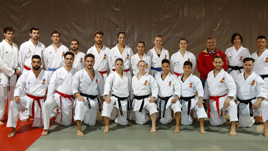 Equipo nacional español de karate