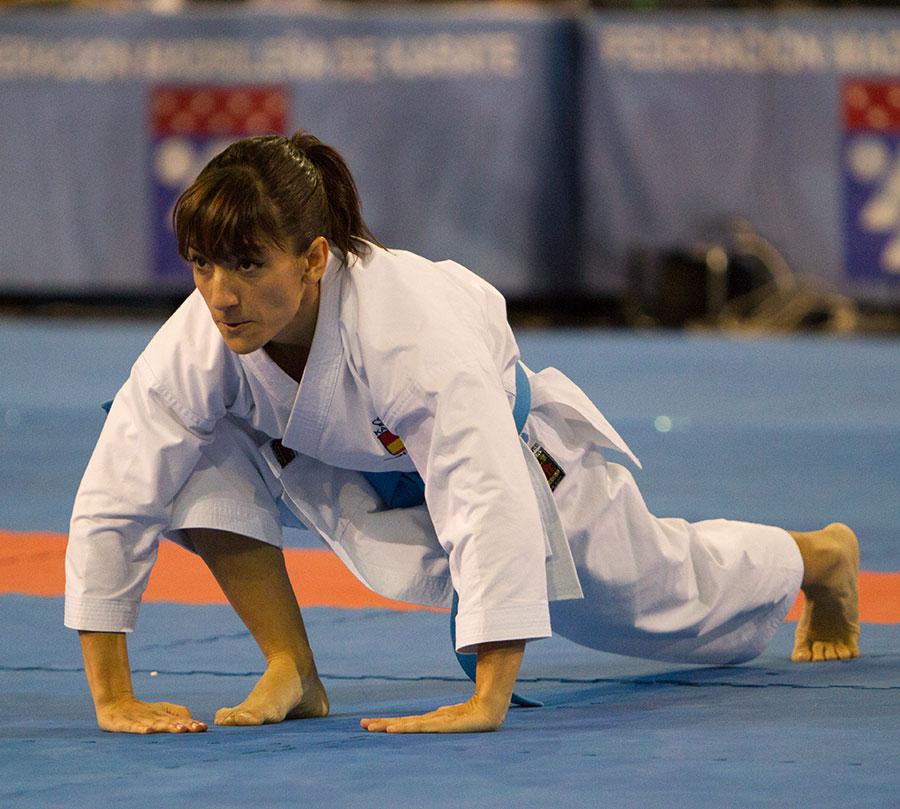 En el karate nunca hay límites, las metas no están escritas