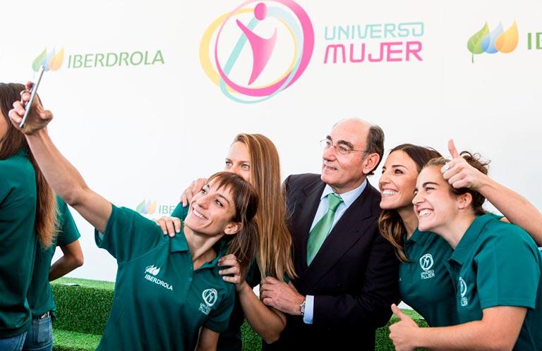 Sandra Sanchez es embajadora del Programa Universo Mujer