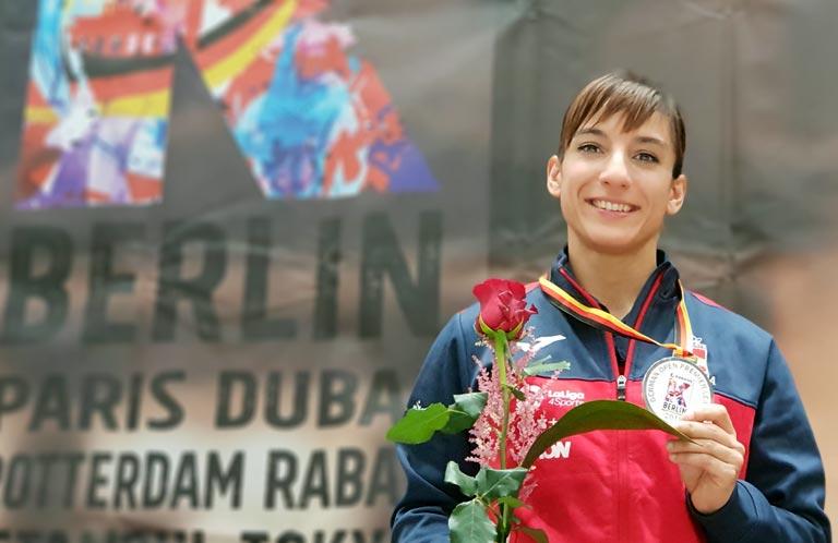 Sandra Sánchez, medalla de plata en el Open de Berlín